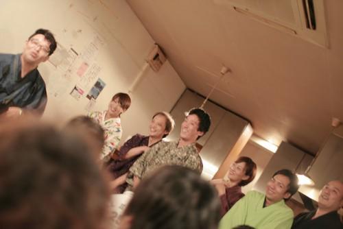 2010.9月ソネス寄席の模様