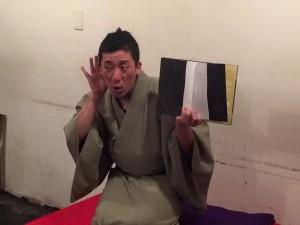 2016.6月落語茶屋ソネス~添いて支えるクレマチス