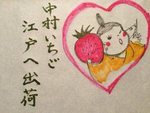 2017.6月落語茶屋ソネス「中村いちごが江戸へ出荷されます」
